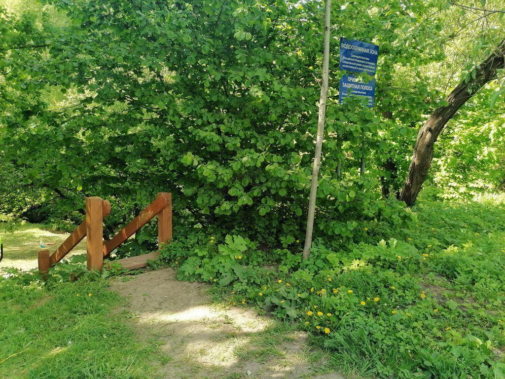 Голубининский парк, лето, благоустройство Москвы
