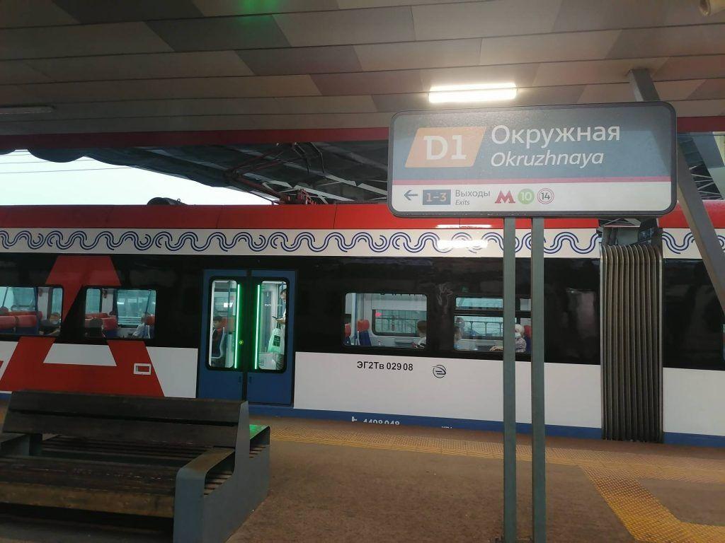 МЦД, Окружная, метро