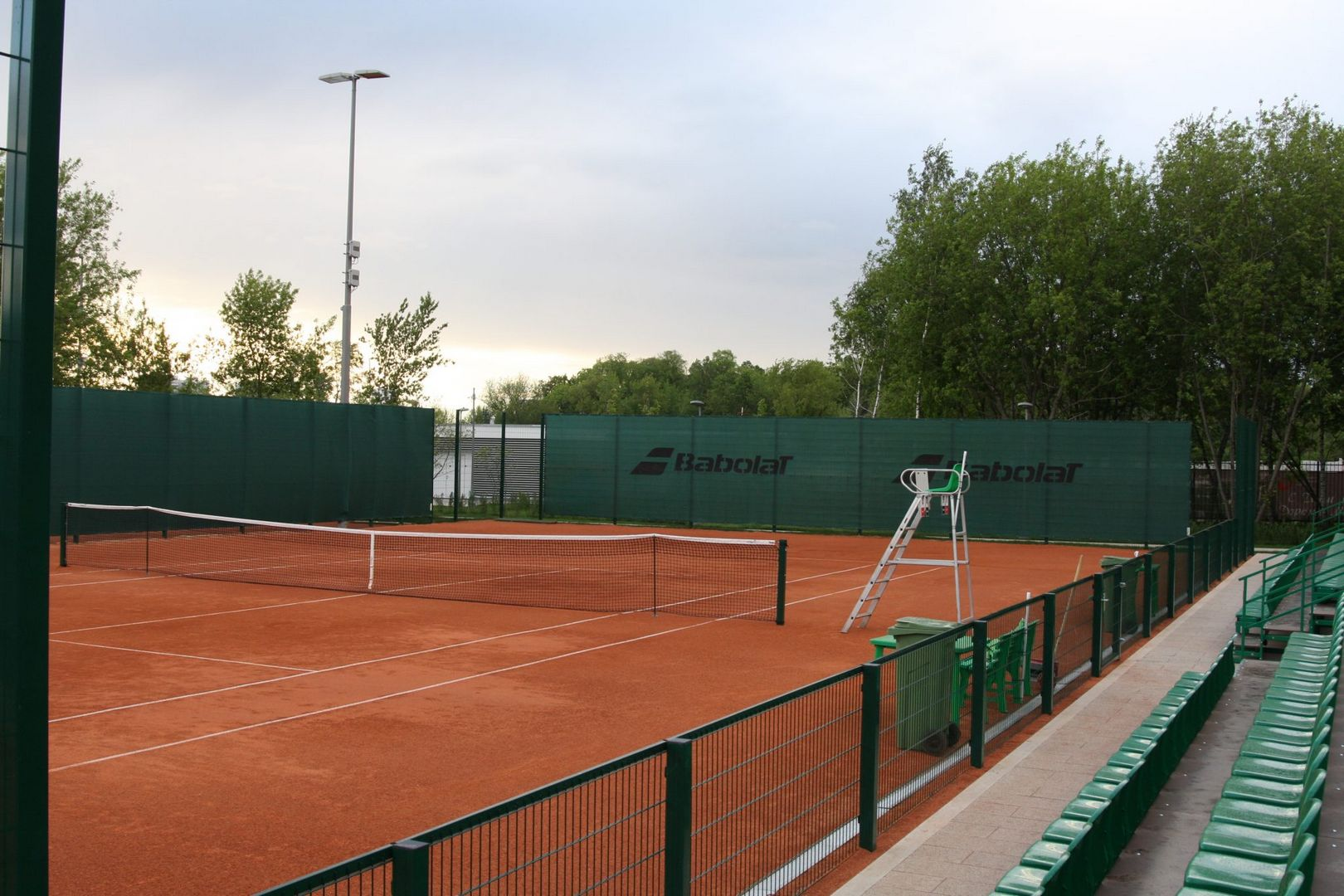 спортивная площадка, теннис, парк