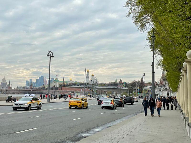 Москва, улица, машины, город, виды Москвы