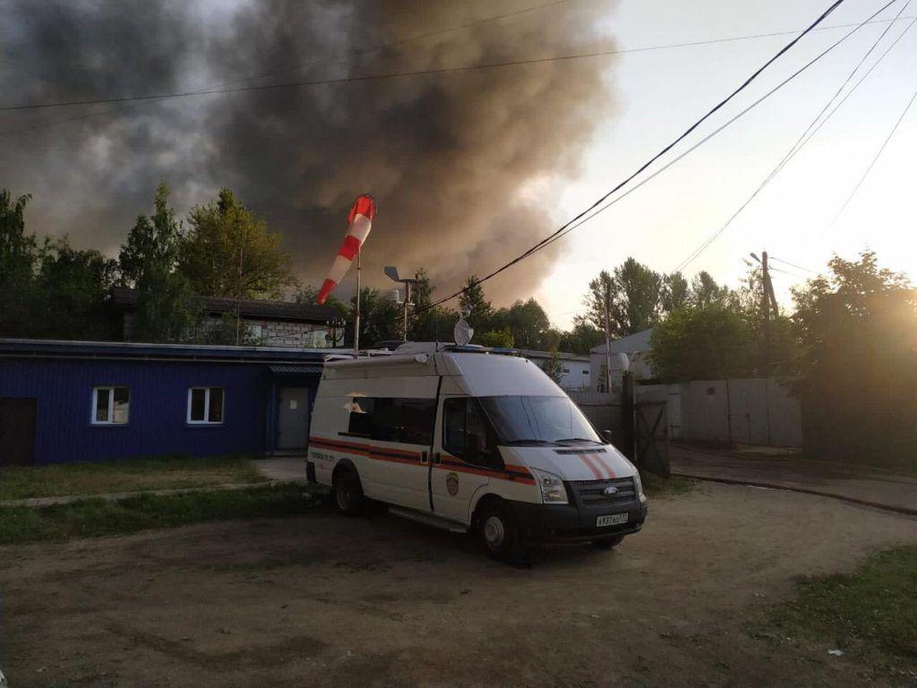 пожар, Департамент по делам гражданской обороны