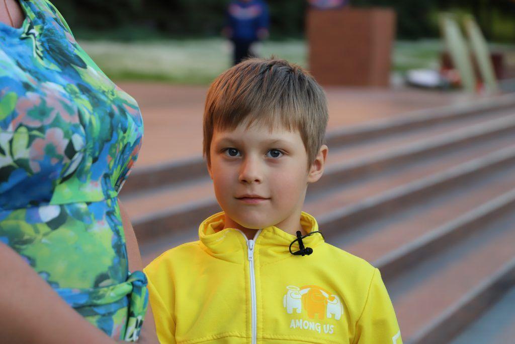Захар Климов, один из победителей Международного конкурса «Рисуем с детьми Вечный огонь»