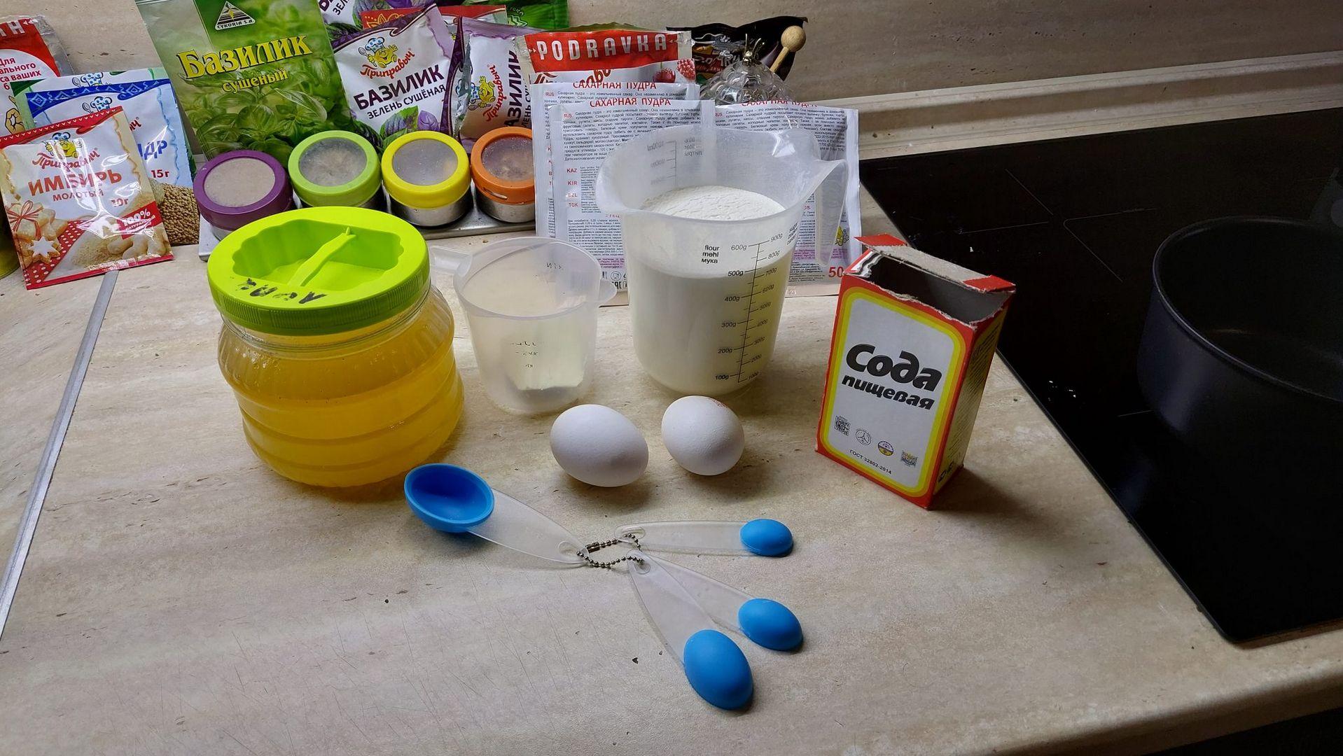 яйца, сода