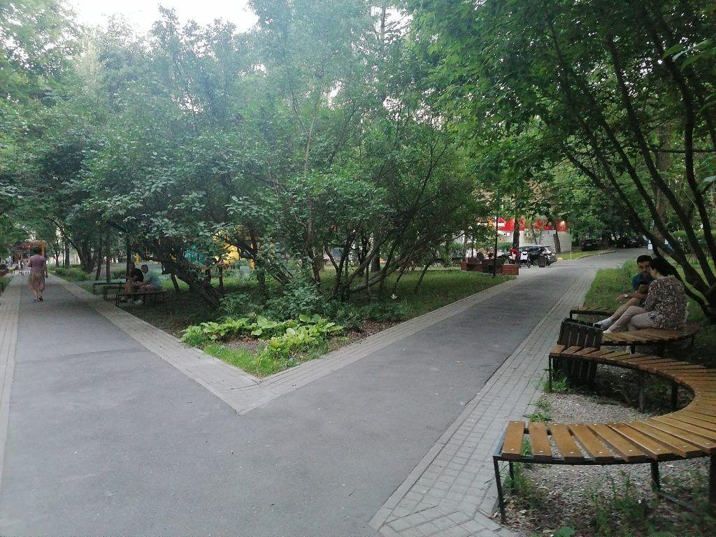 Сквер на Нагорном бульваре, благоустройство