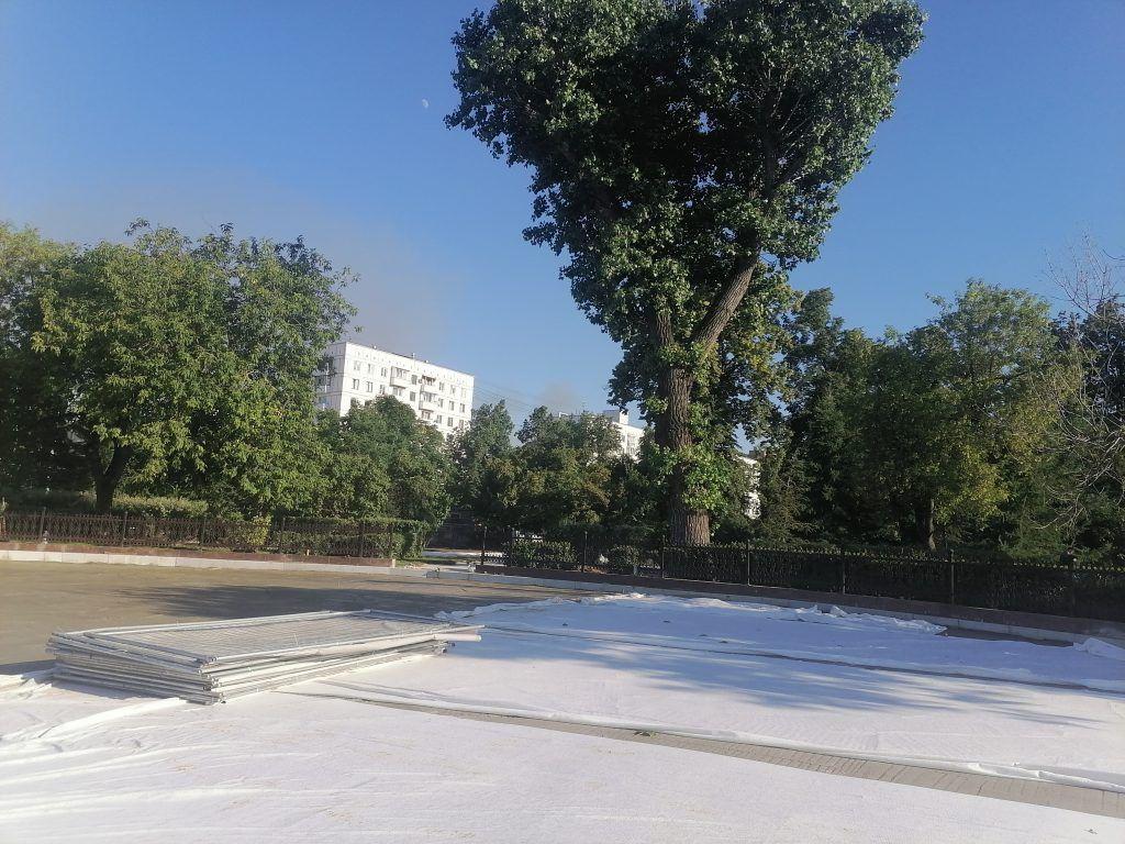 Парк Декабрьского восстания, благоустройство