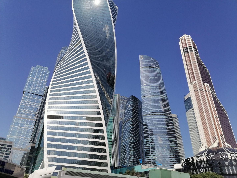 Москва, воздух