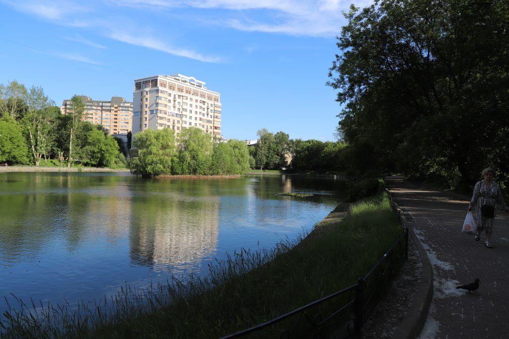 Егерский пруд, Сокольники, водоем