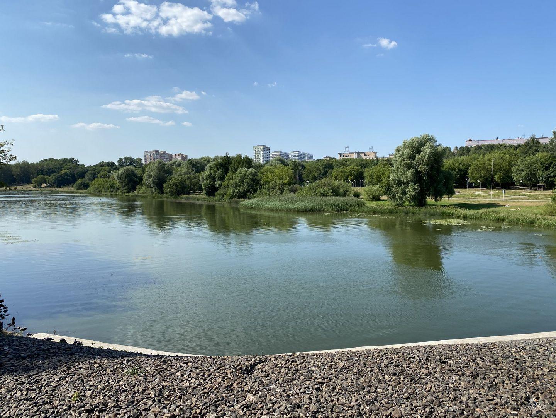 Роскошный вид на Люблинский пруд