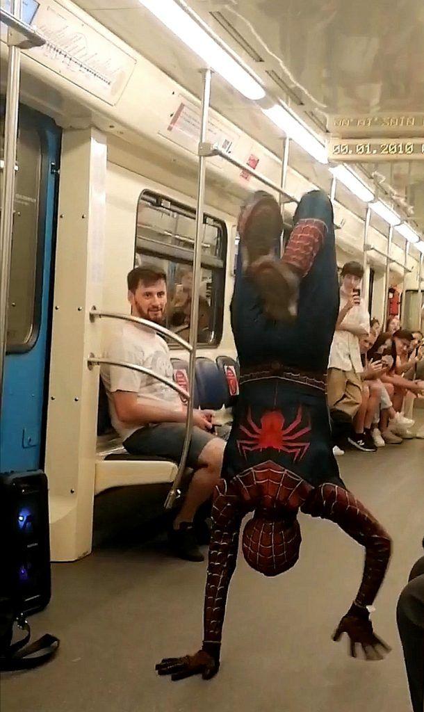 человек-паук, метро