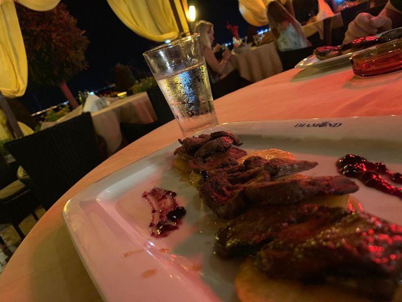 фаугра, ресторан, еда