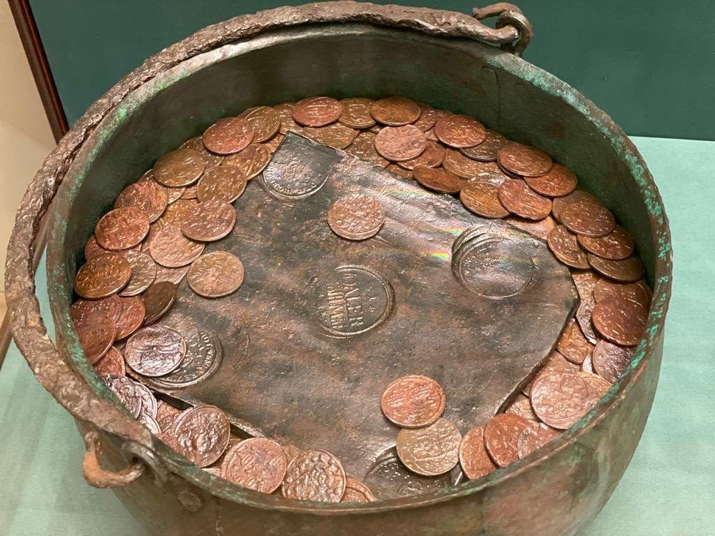клад, монеты