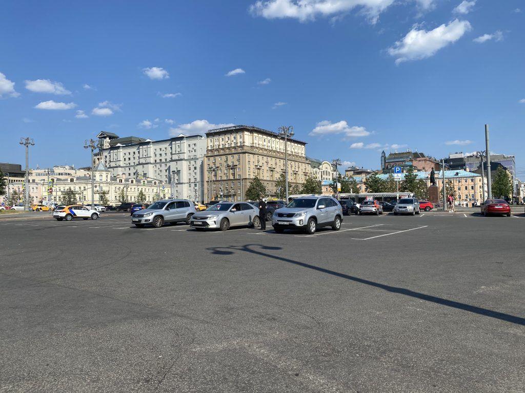 благоустройство Москвы, Площадь Тверская Застава