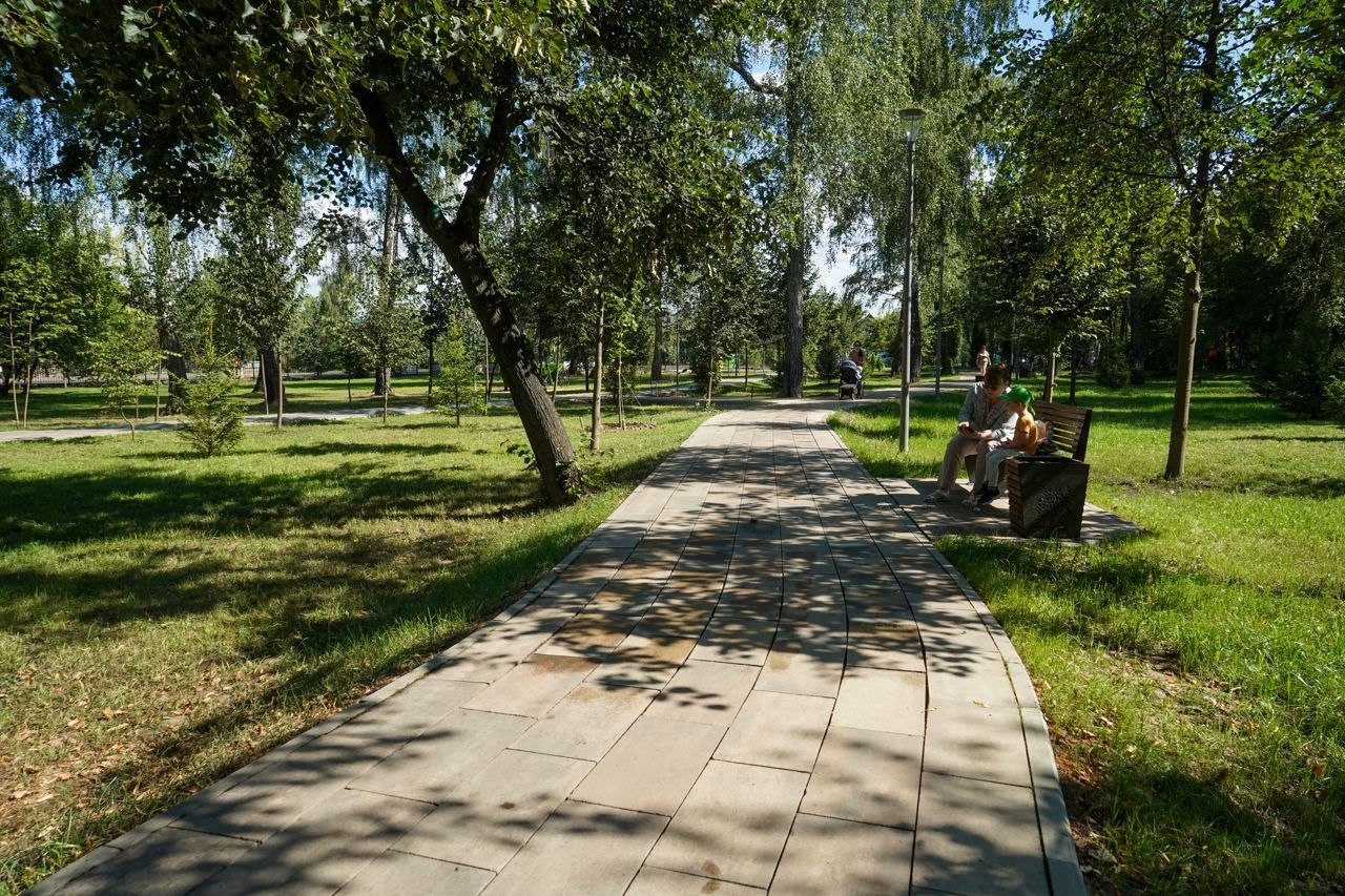 парк Барыши, благоустройство