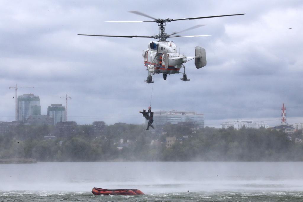 спасатели, МАЦ, водоем