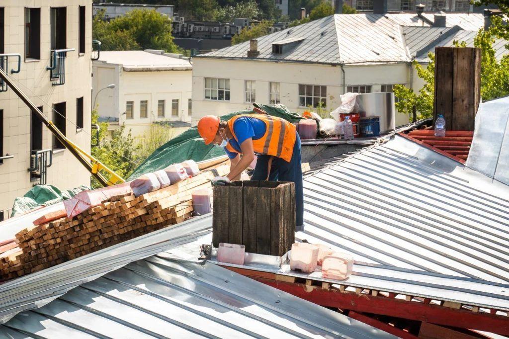 крыша, ремонт, благоустройство
