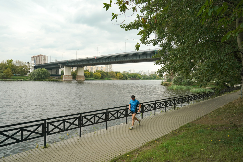 Братеевский мост, Комплекс городского хозяйства Москвы, лифт, мост, Петр Бирюков