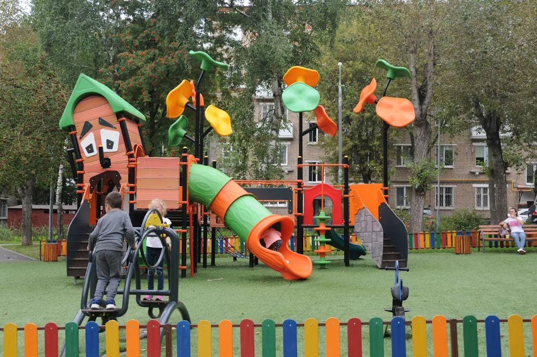 двор, детская площадка, благоустройство