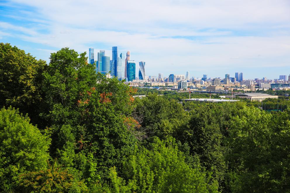 Москва, столица, воздух
