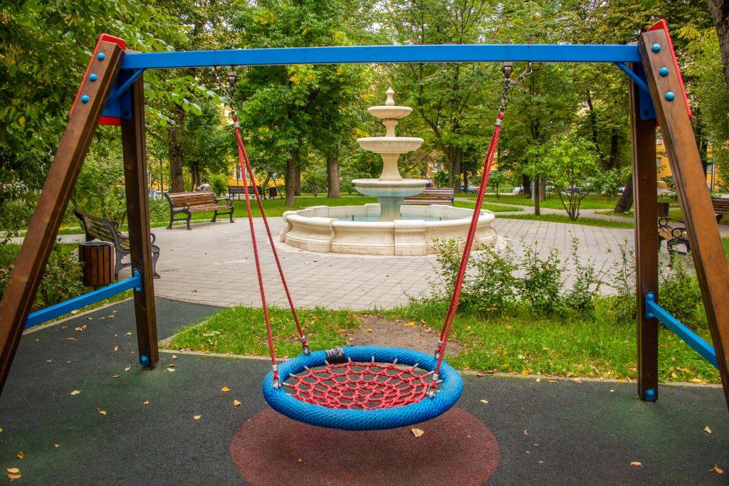 благоустройство, двор, детская площадка