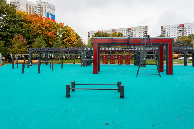 спортплощадка, «Русский ниндзя», Парк Яуза