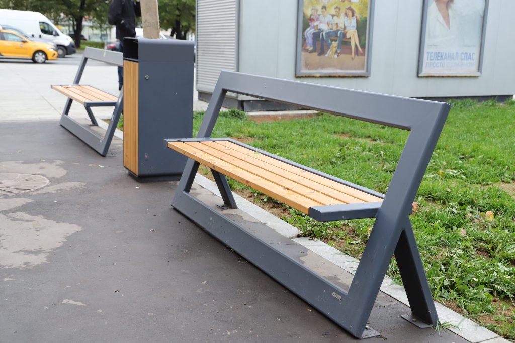 благоустройство, скамейка
