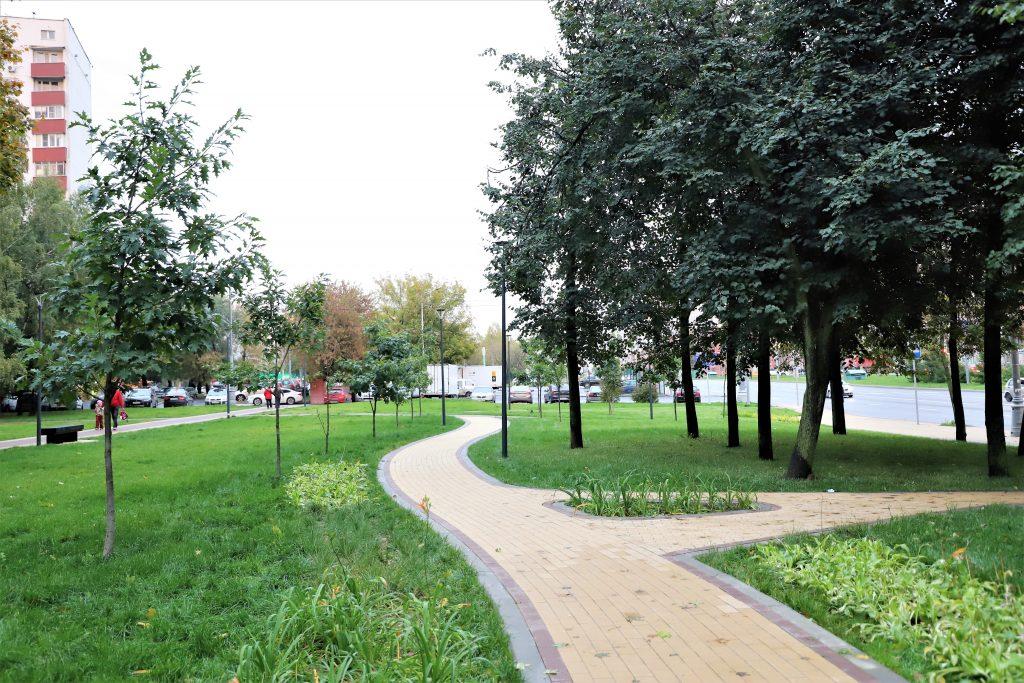 благоустройство Москвы, Ясеневская улица