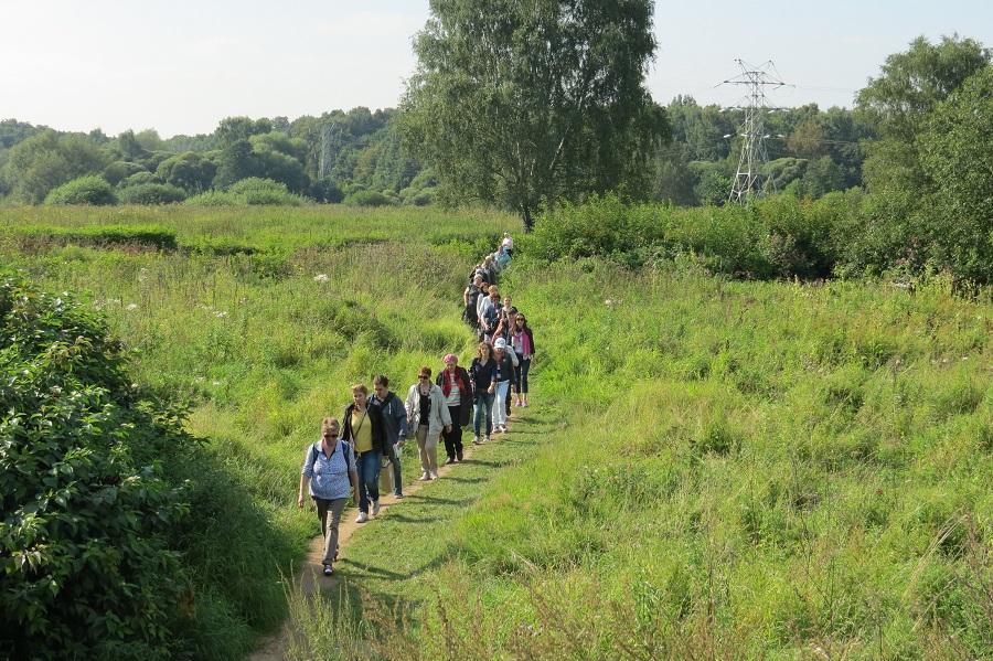 Экскурсия по полям