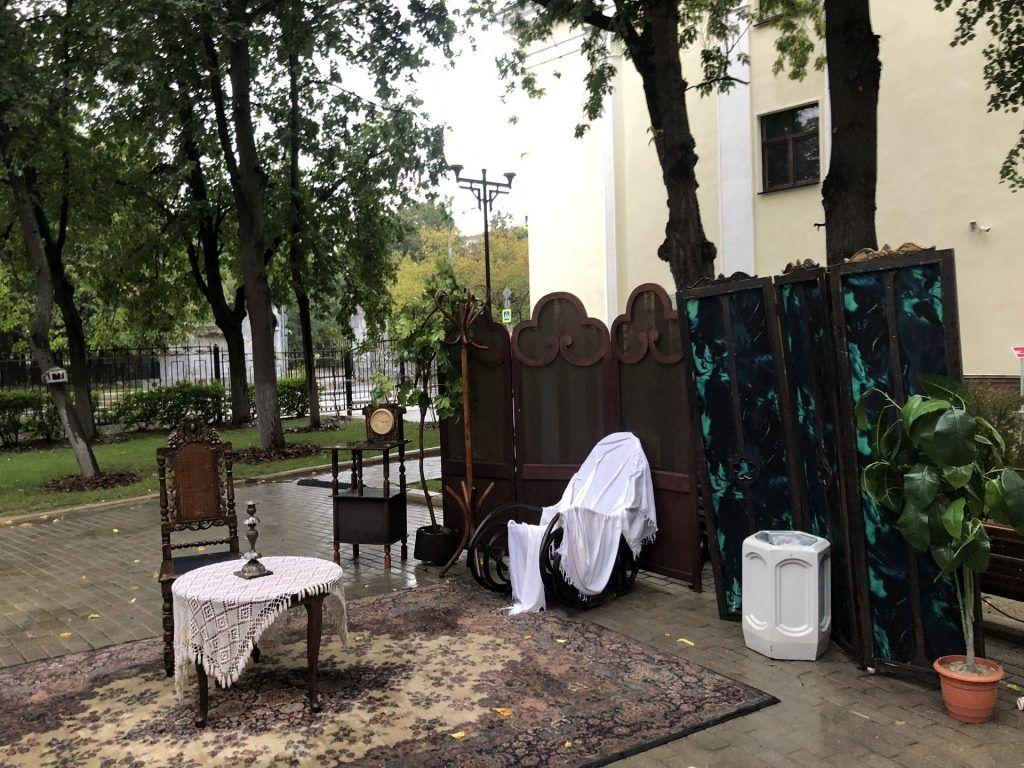 киностудия Горького, капремонт