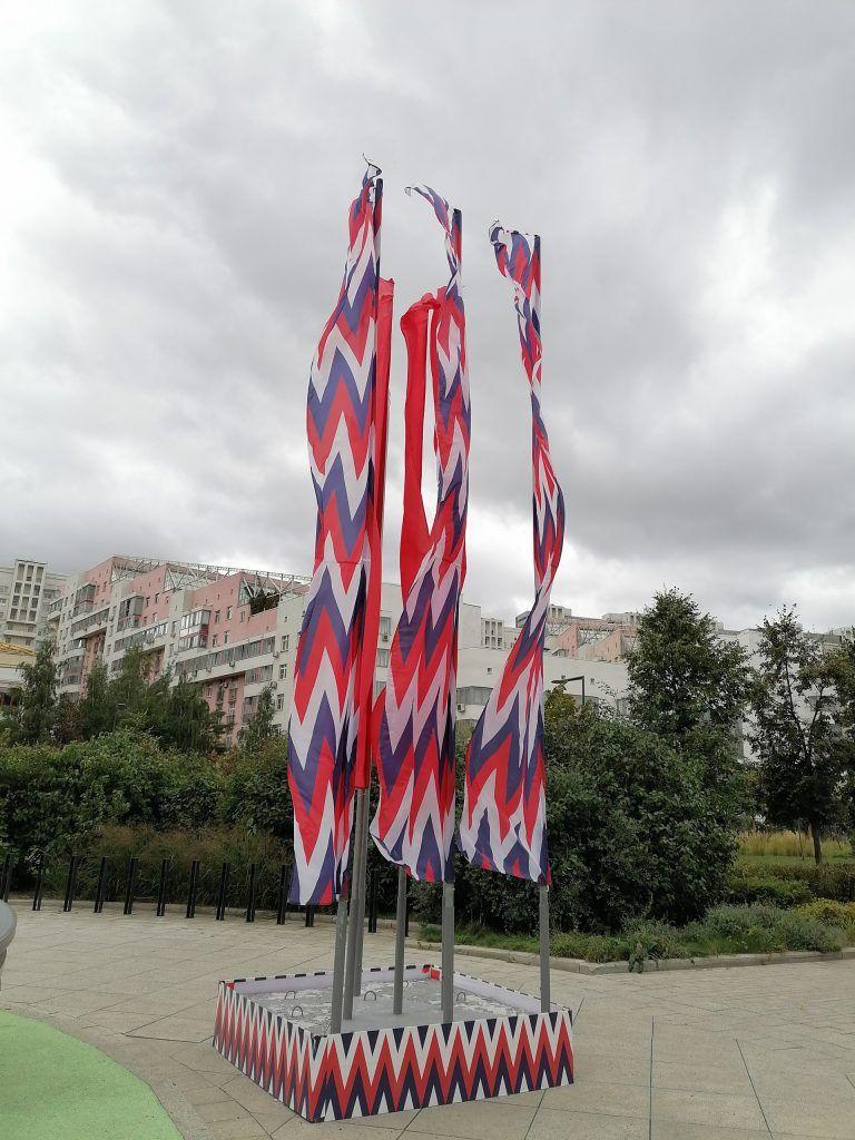 украшение Москвы, день города