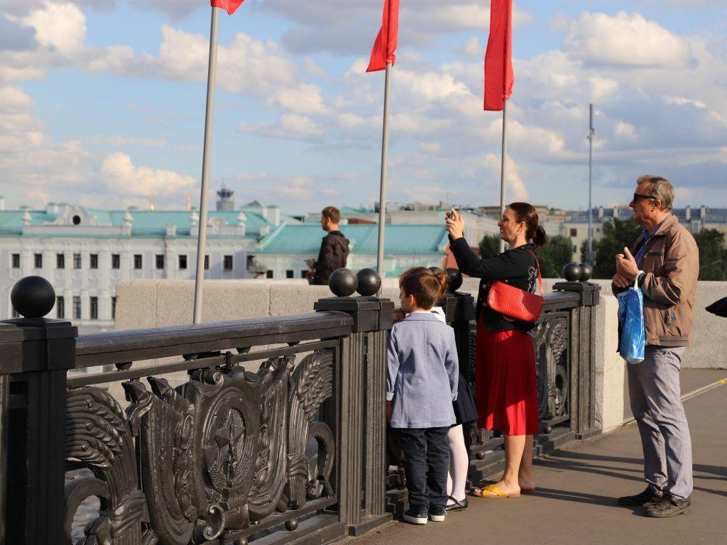 Большой каменный мост, день города