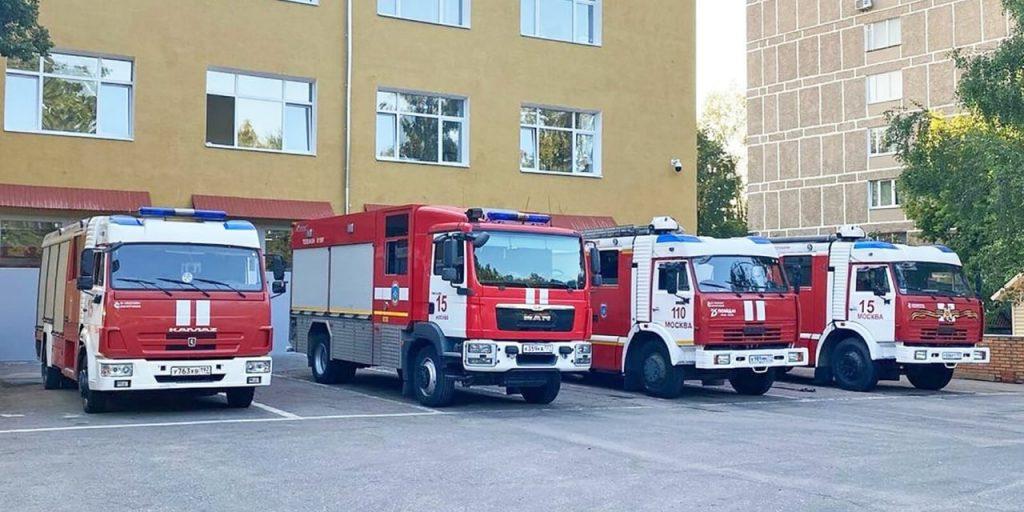 здание пожарно-спасательной части №15