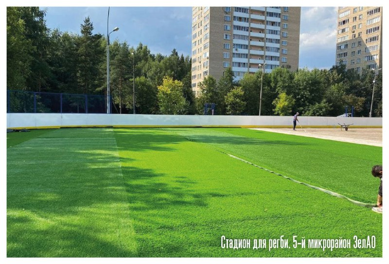 поле для регби, Зеленоград