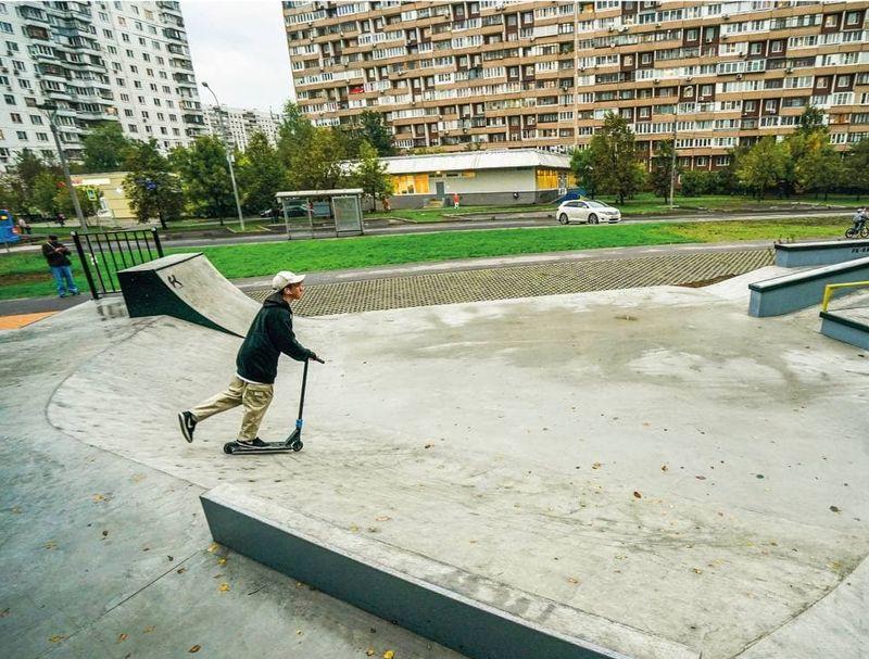 скейт-парк, Новокосино
