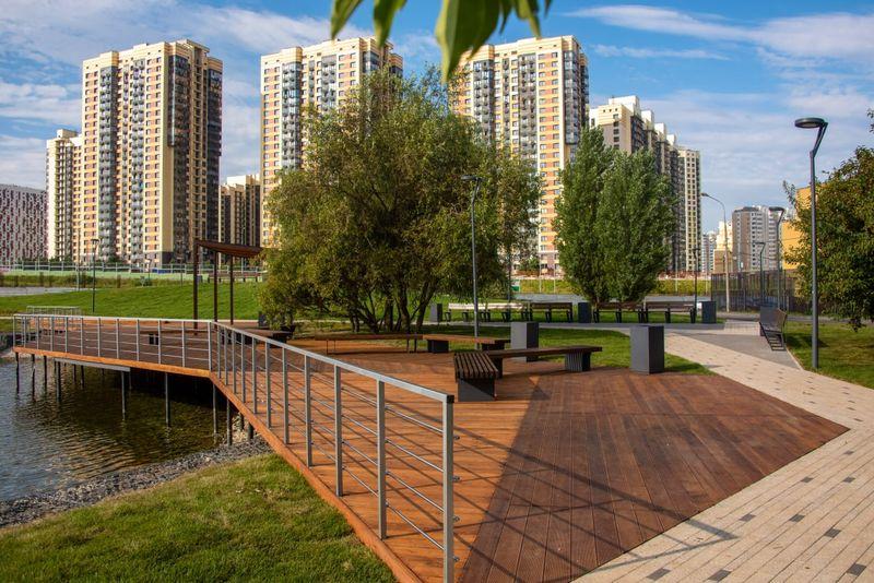 Малый Федосьинский пруд, Ново-Переделкино, благоустройство