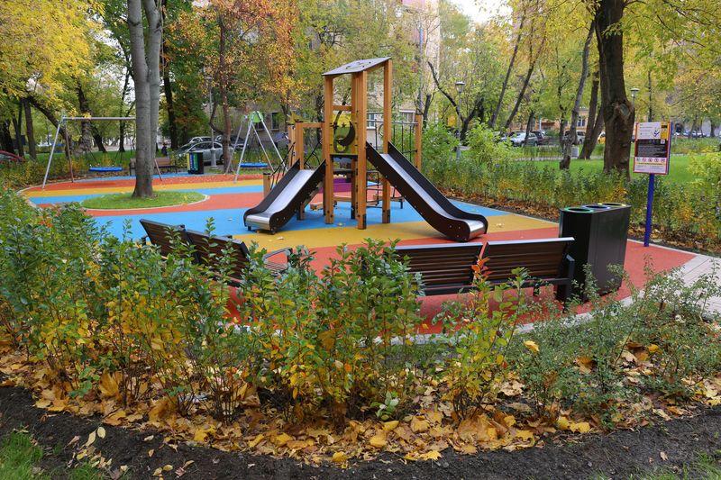 Благоустройство Москвы, Комплекс городского хозяйства Москвы, СВАО, детская площадка