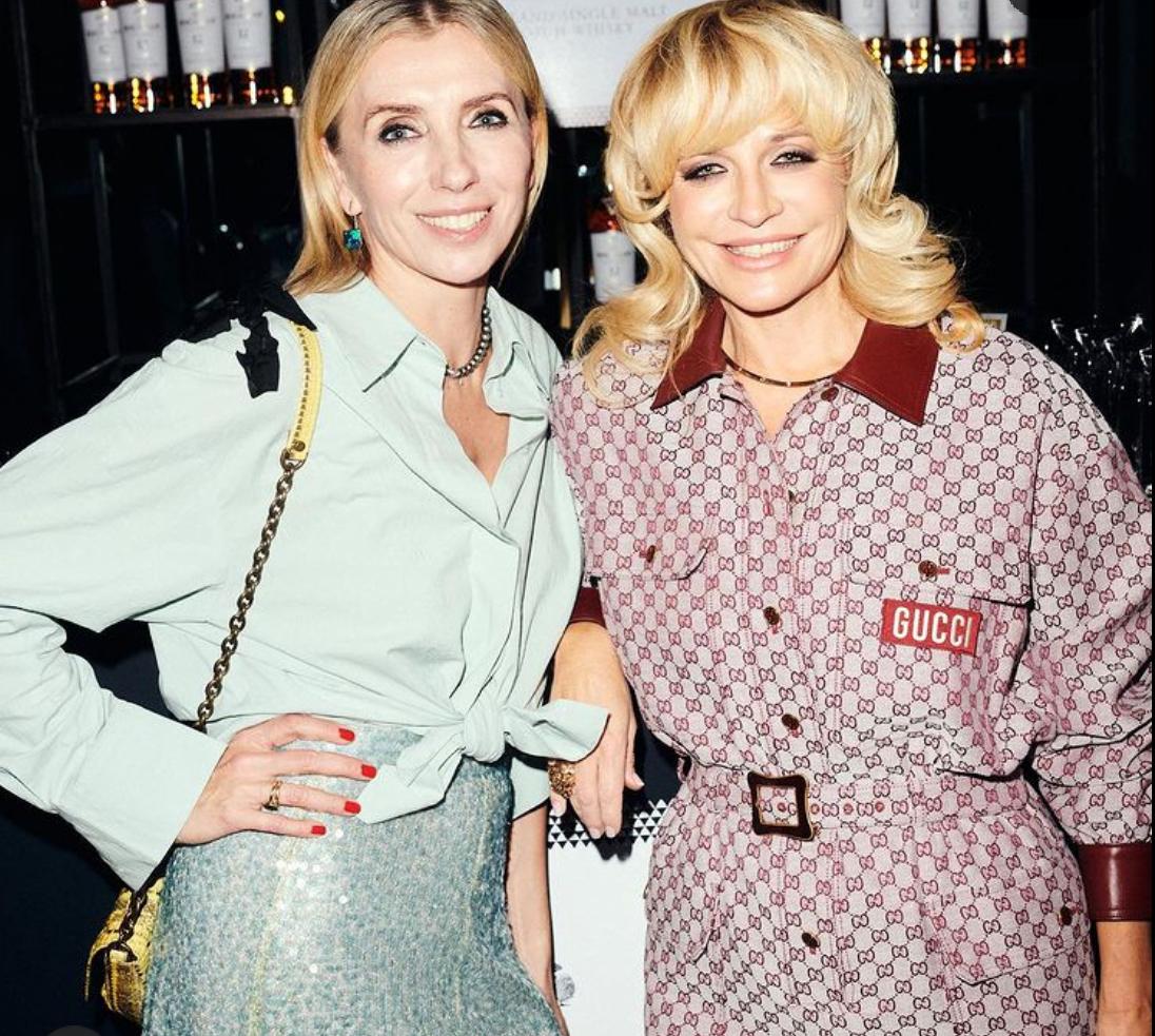 Светлана Бондарчук и Виктория Шелягова