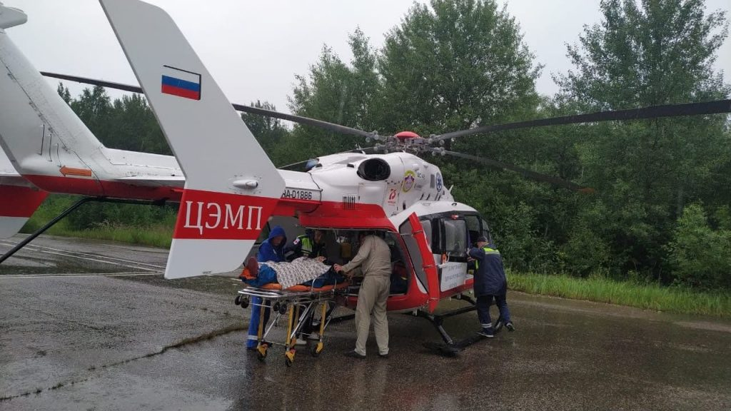 вертолет МАЦ, осень в МОскве