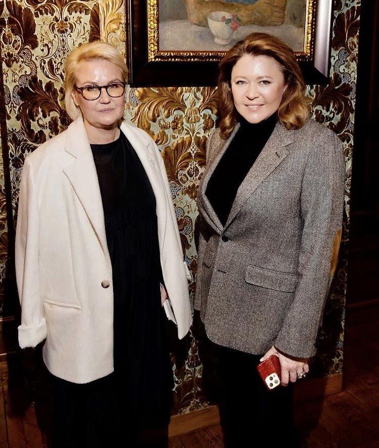 Наталья Лучанинова и Мария Пиотровская