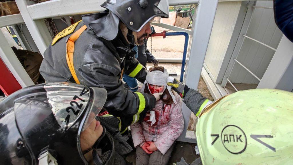 Учебно-тренировочные сборы, учения, спасатели, пожарные