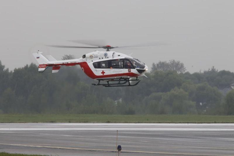 МАЦ, вертолет