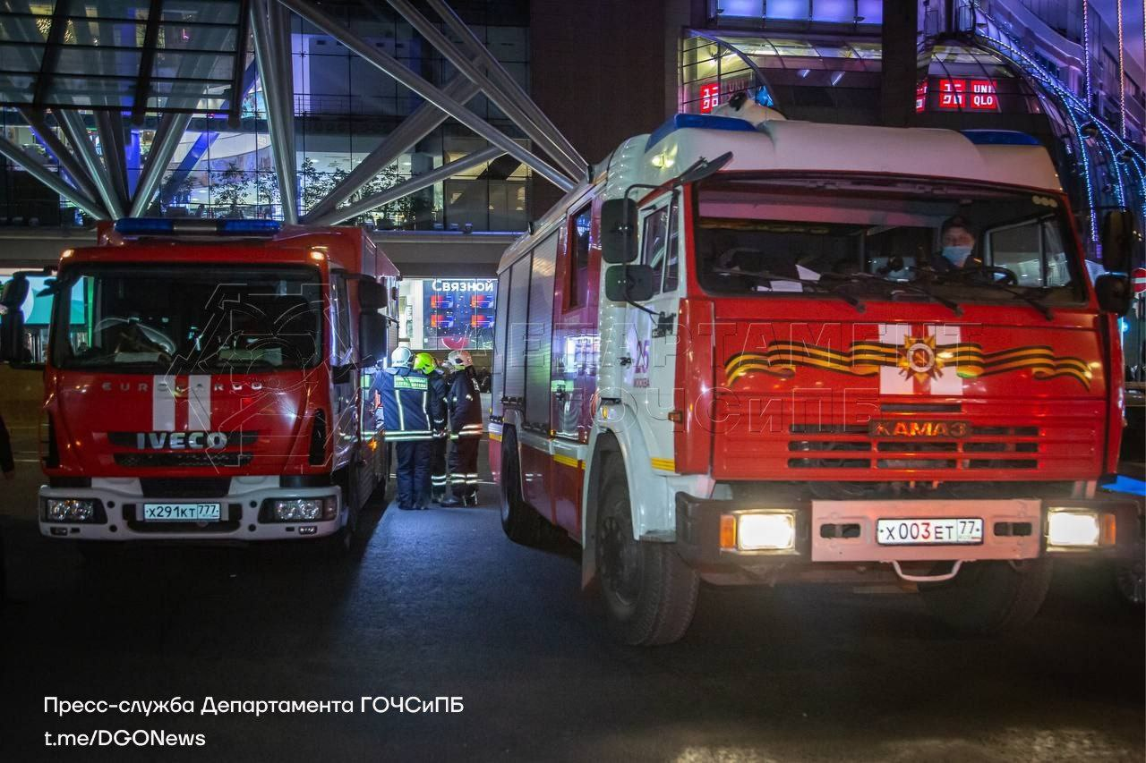 ДТП, Киевский вокзал, пожарная машина