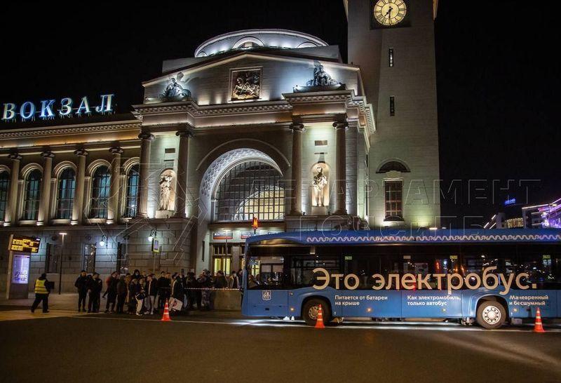 ДТП, Киевский вокзал, автоубс,