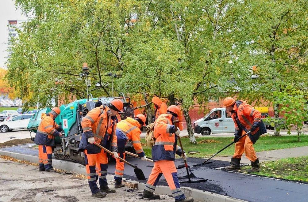 ремонт дороги, ремонт асфальта, благоустройство