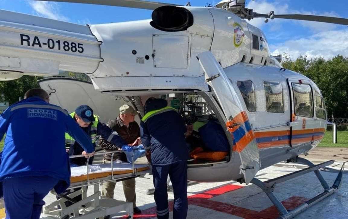 вертолет, МАЦ, спасатели