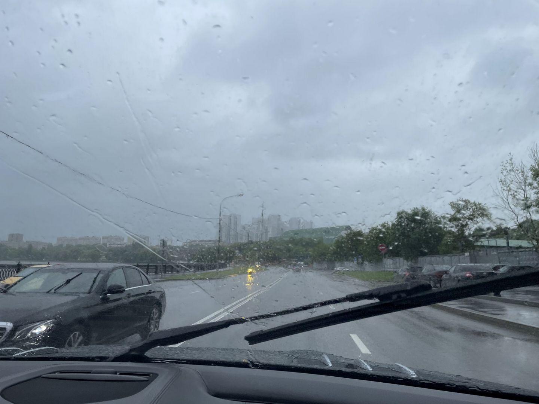 дождь, погода, дорога