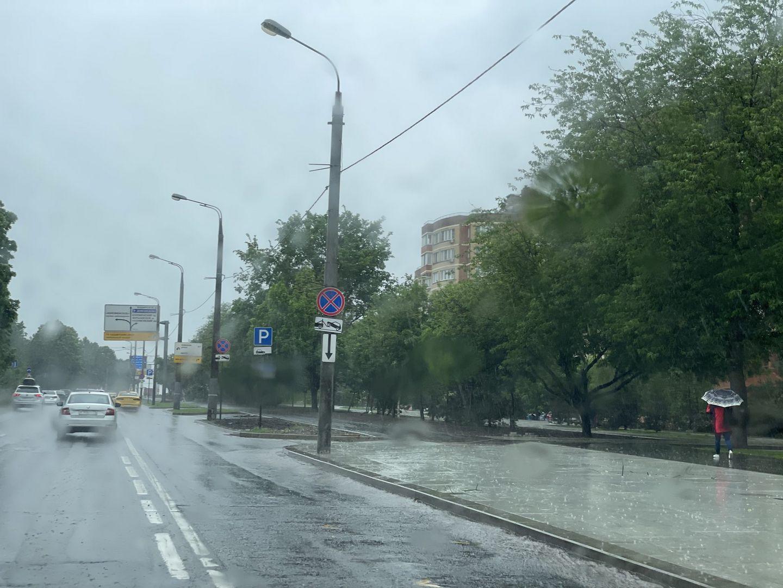 дождь, погода, ливень