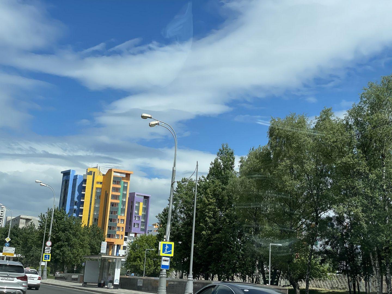 фасад, дом, улица, капремонт
