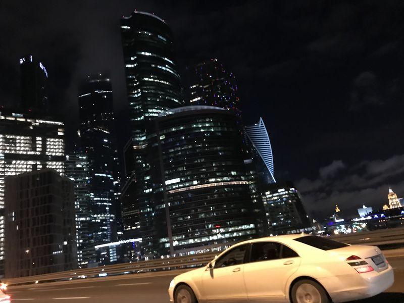подсветка, Москва